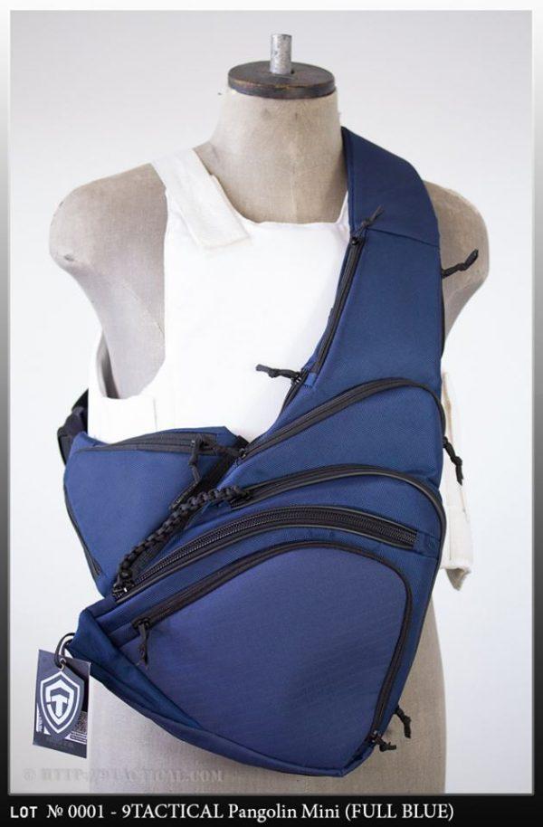 Оружейная сумка для профессионалов Pangolin Mini Full Blue 2015. Синяя.