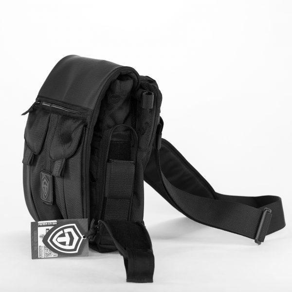 Сумка для пистолета Casual Bag L 2017. Пиксель. ЧЁРНАЯ.