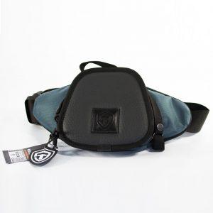 Casual Bag S MINI Grey. Серая поясная сумка для пистолета.