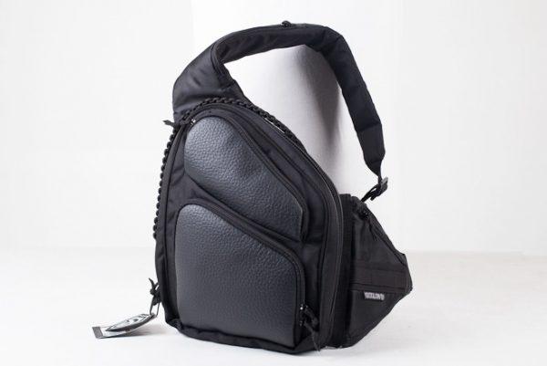 Купить сумку для оружия 9Tactical Sling SQB Black Leather. Чёрная.