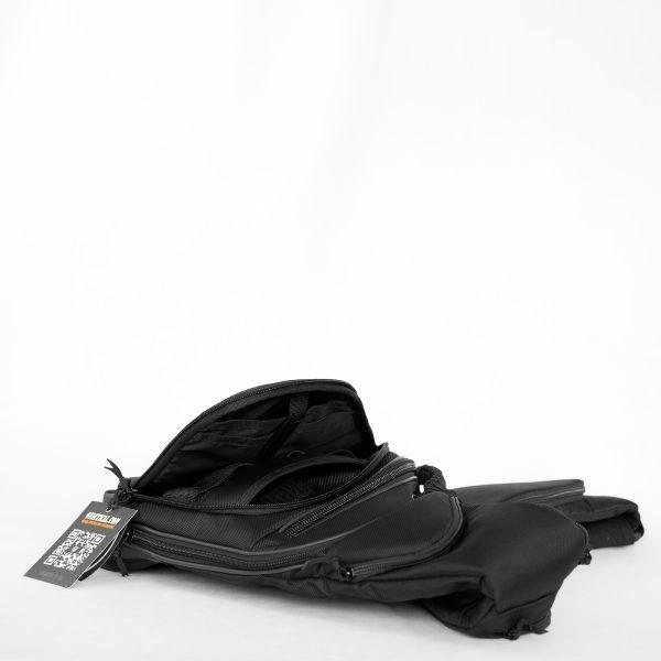Пистолетная сумка-кобура Pangolin Mini 2017 Black CARBON. Чёрная.