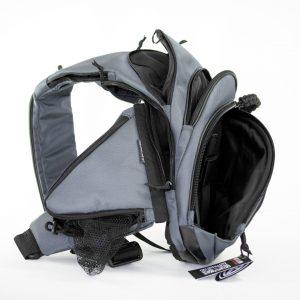 Слинг сумка для скрытого ношения оружия Pangolin Mini Grey Calfskin. Серая.