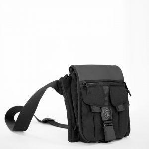 Купить мужскую сумку для пистолета через плечо Casual Bag M Pixel. ЧЁРНАЯ.