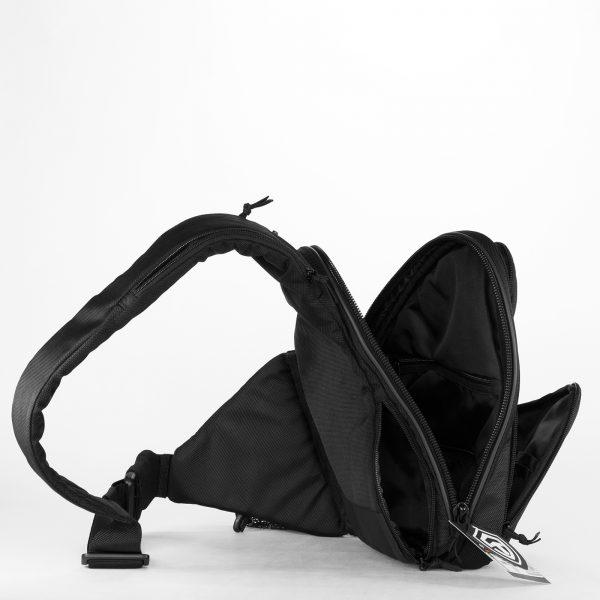 Сумка для пистолета 9Tactical Sling SQB Black Pixel. Чёрная.