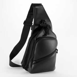 Сумка для пистолета 9TACTICAL Piligrim S ECO Leather Black