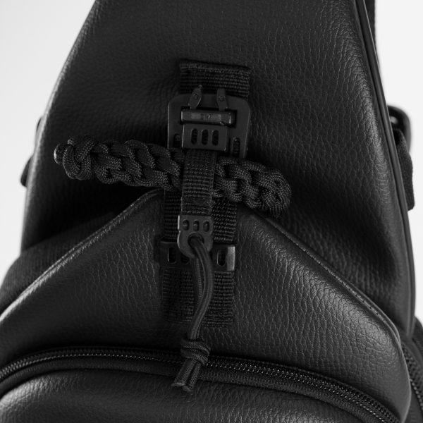 Сумка для пистолета 9TACTICAL Piligrim S ECO Leather Black