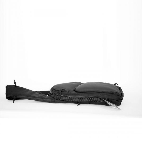 Сумка кобура, аптечка для телохранителя Sling LQB PIXEL Black. Чёрная.