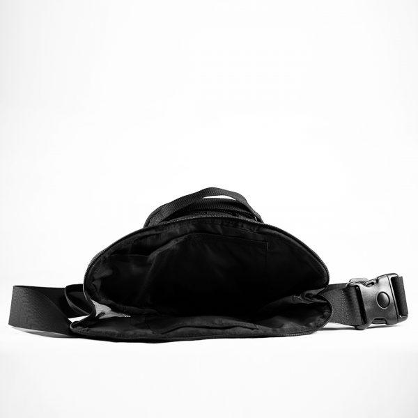 Поясная сумка для пистолета Casual Bag S MINI ECO Leather. Чёрная.