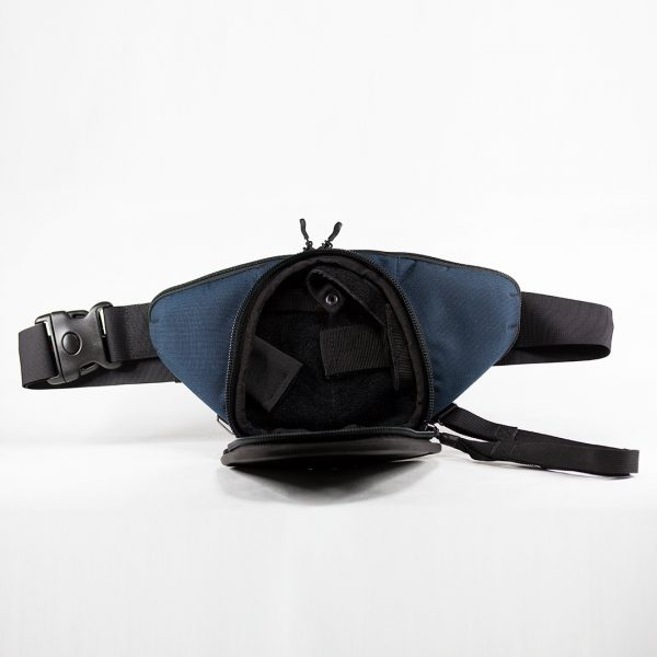 9TACTICAL Casual Bag S MINI ECO Leather Royal Blue