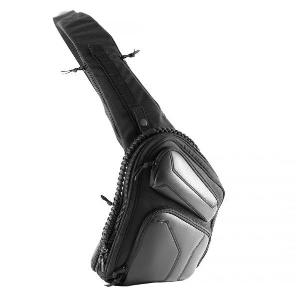 Sling SQB. Чорна пістолетна сумка для прихованого носіння зброї.