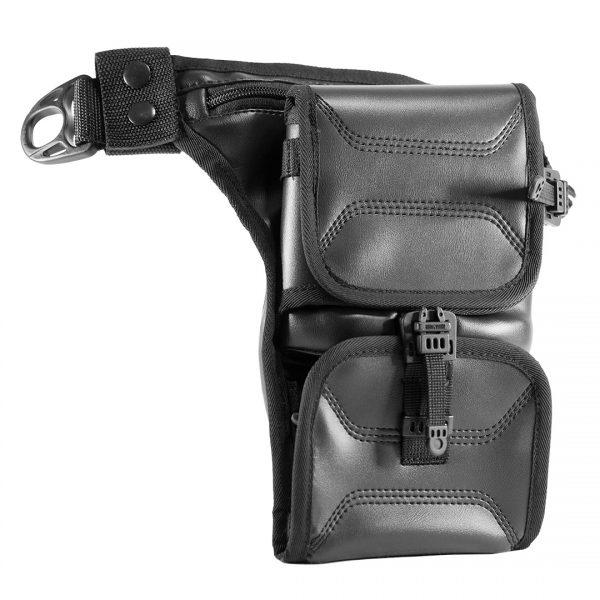 Easy Holster Bag ECO Leather. Чорна сумка-кобура для пістолета.
