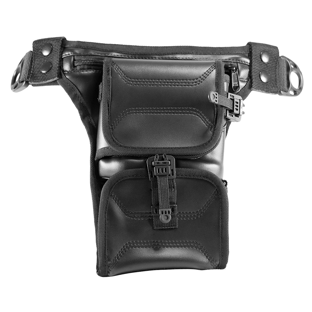 Сумка-кобура для пистолета. Easy Holster Bag ECO Leather. Чёрная.