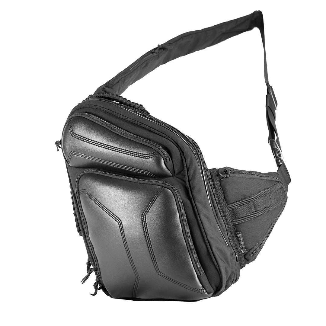 Городской рюкзак 9Tactical Sling LQB. Слинг сумка телохранителя, медика, туриста.