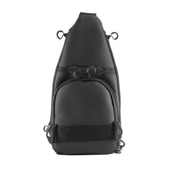 Мужская слинг сумка 9TACTICAL Piligrim S 2018 MATTE Black