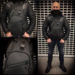 Piligrim S 2018. Мужская слинг сумка для города.