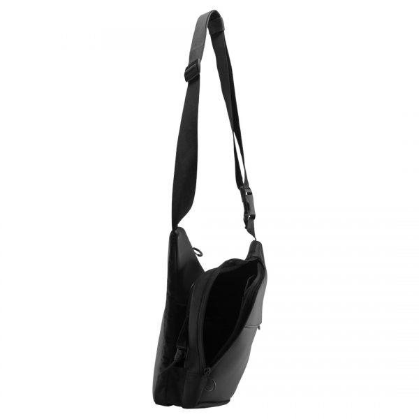 9Tactical City Bag M Body. Чёрная мужская сумка для пистолета и EDC.