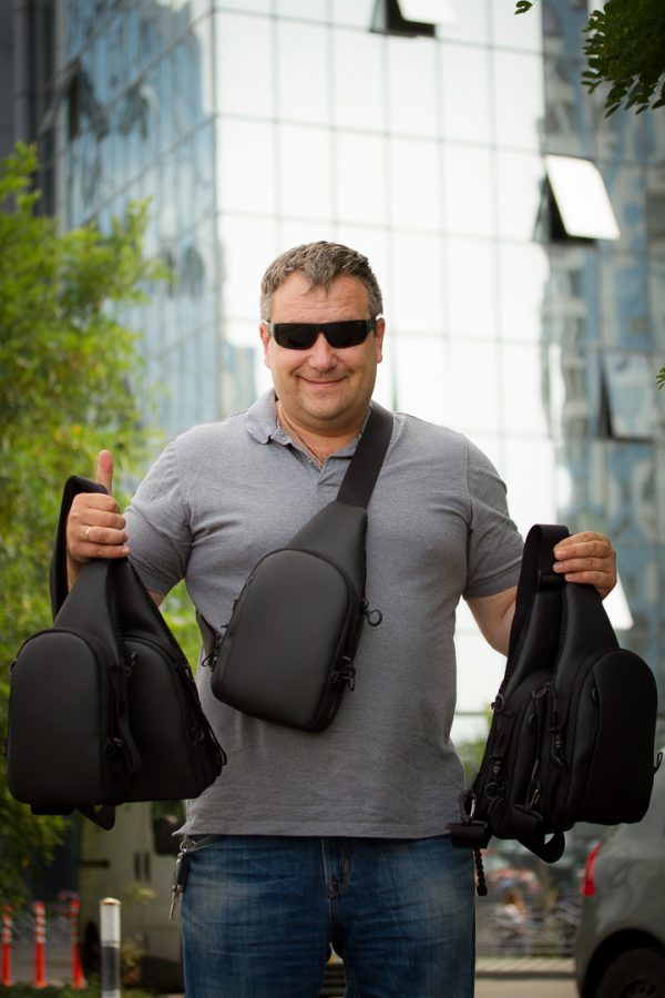 Piligrim MINI MH. Файна чоловіча торба.