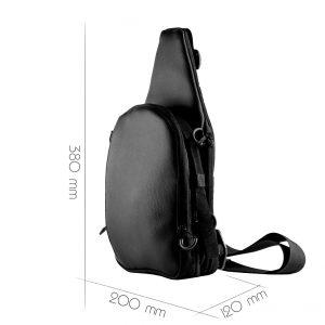 Мужская слинг сумка для пистолета 9TACTICAL Piligrim MINI MH