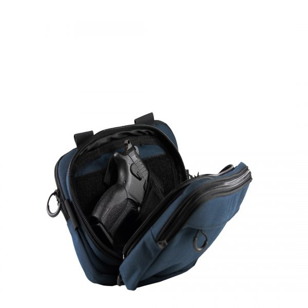 Focus Navy. Мужская сумка для пистолета.