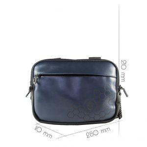 Чоловіча пістолетна сумка Focus Navy C 2020