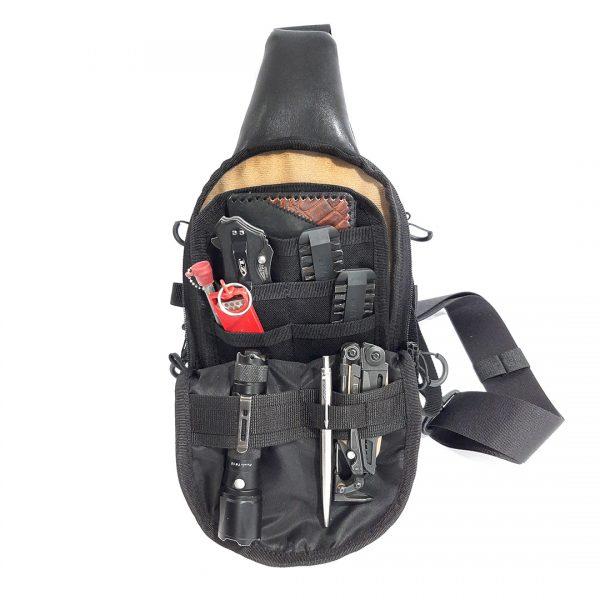 Piligrim MINI MH 2021. Мужская слинг сумка.