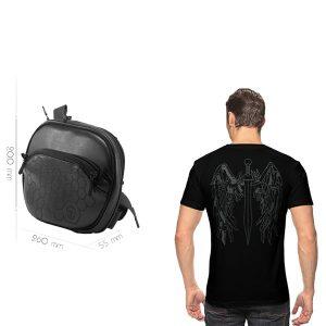 Комплект сумка S Combo + футболка 9Tactical